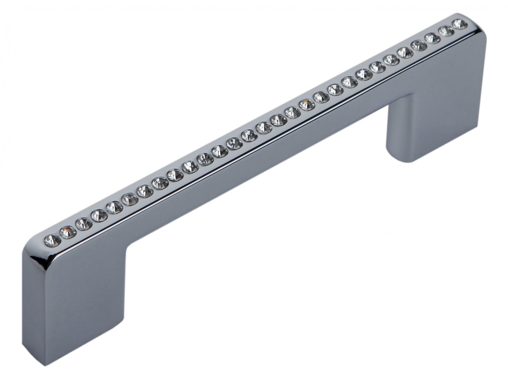 Мебельная ручка RS429CP/CrT.4/96